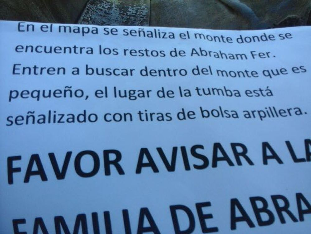 Osamenta hallada es de paraguayo secuestrado