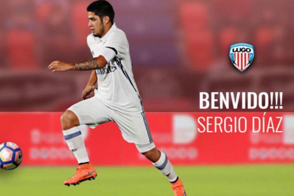 Sergio Díaz es nuevo refuerzo del Deportivo Lugo
