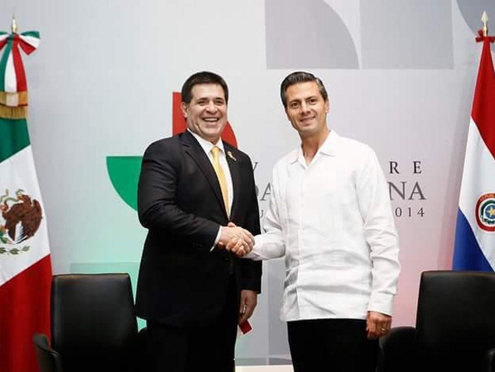 Viajará Peña a Paraguay este mes