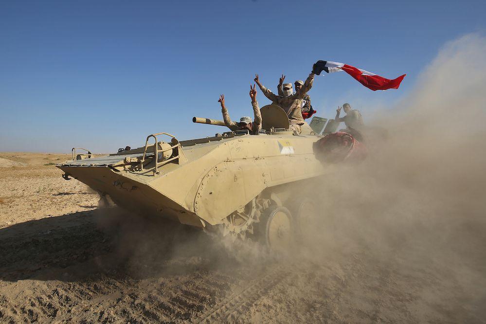 Irak inicia operación para expulsar al grupo EI de Tal Afar