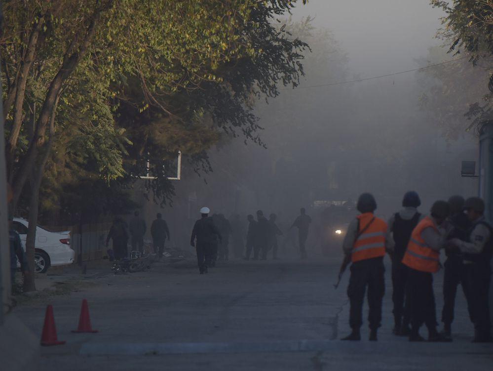Explosión en Kabul dejó numerosas víctimas