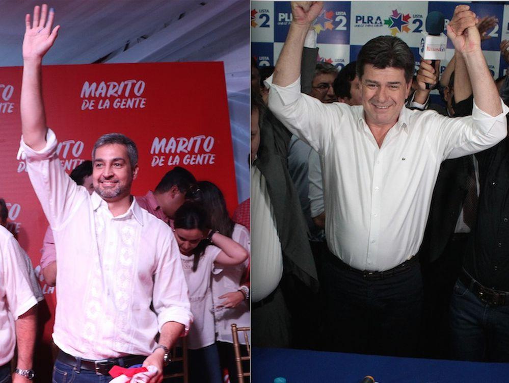 Marito pone en manos de Nicanor el comando de campaña