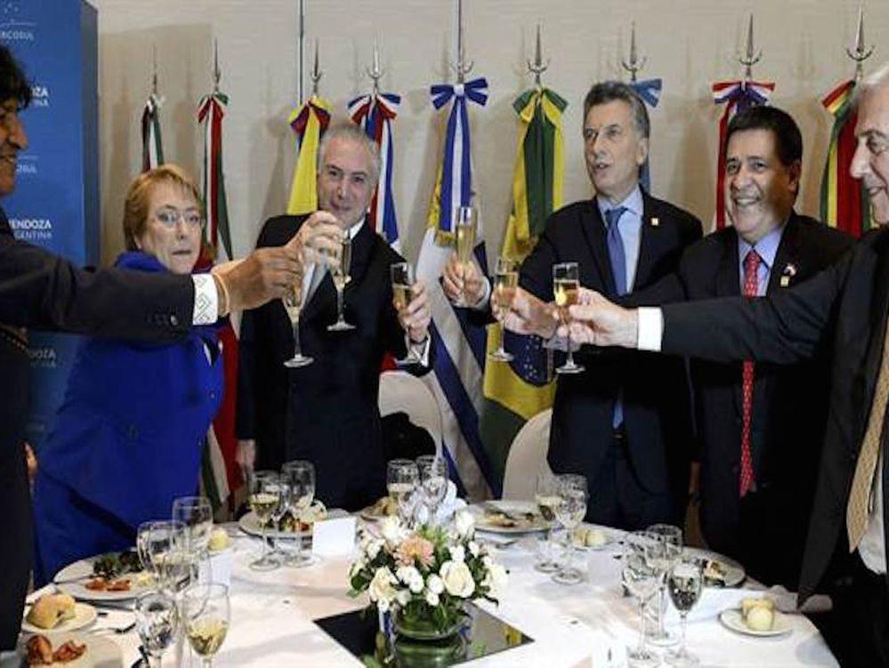 Cancilleres revisan la agenda del Mercosur en vísperas de la cumbre